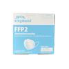 Atemschutzmaske FFP 2 ohne Ventil, CE 2163