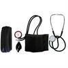 2-Schlauchgerät + Stethoskop Flachkopf schwarz
