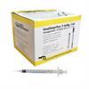 Insulinspritzen U100 + Kanüle, 29Gx1/2, steril, Pack à 100 Stück