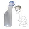 Urinflaschen-Set 2, 2-teilig Flasche & Flaschenhalter