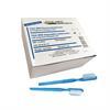 Zahnbürsten mit integrierter Zahnpasta, blau Pack à 100 Stück