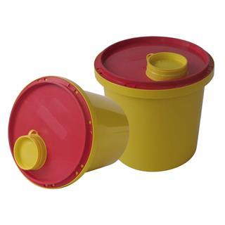 Abwurfbehälter 1 Liter / 2 Liter