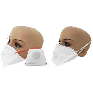 Atemschutzmasken ohne/mit Ventil