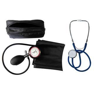 1-Schlauchgerät + Stethoskop Flachkopf blau