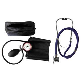 1-Schlauchgerät + Stethoskop Rappaport blau