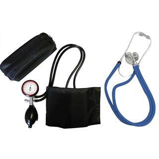 2-Schlauchgerät + Stethoskop Rappaport blau