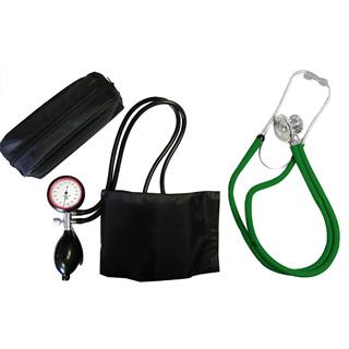 2-Schlauchgerät + Stethoskop Rappaport grün
