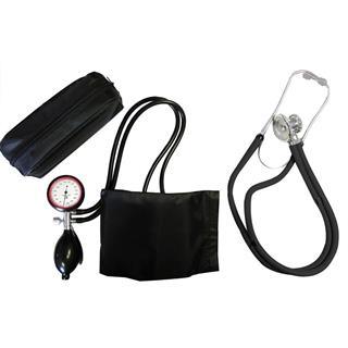 2-Schlauchgerät + Stethoskop Rappaport schwarz