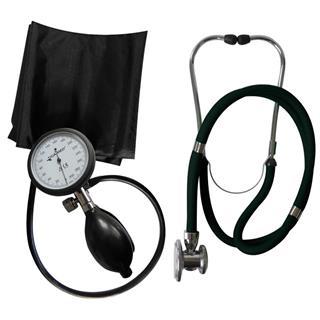 1-Schlauch TIGA PRO + Stethoskop Rappaport schwarz
