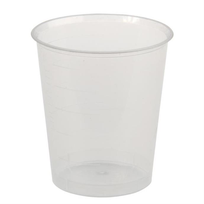 Einnehmebecher 30ml, Pack à 80 Stück, transparent
