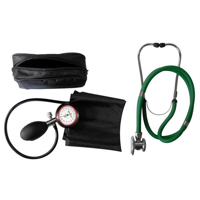 1-Schlauchgerät + Stethoskop Rappaport grün