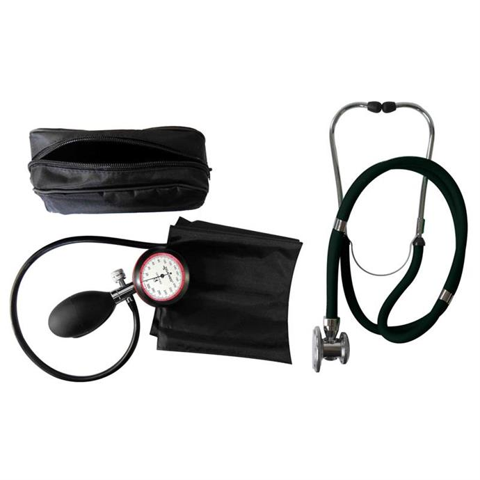 1-Schlauchgerät + Stethoskop Rappaport schwarz