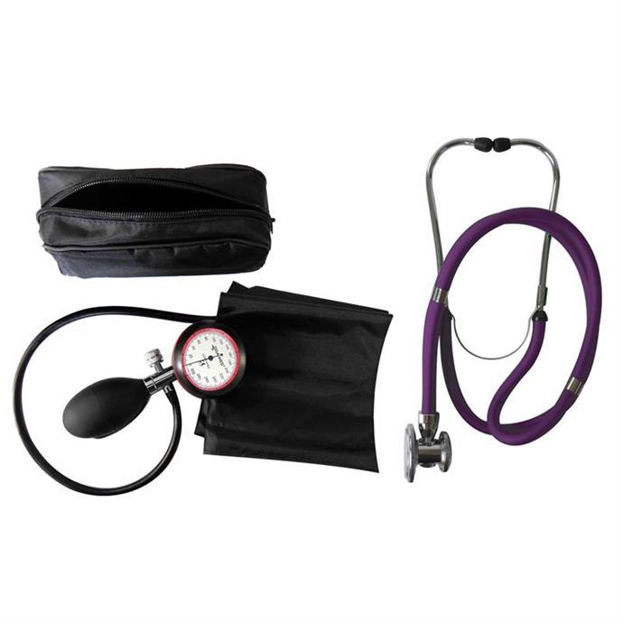 1-Schlauchgerät + Stethoskop Rappaport violett