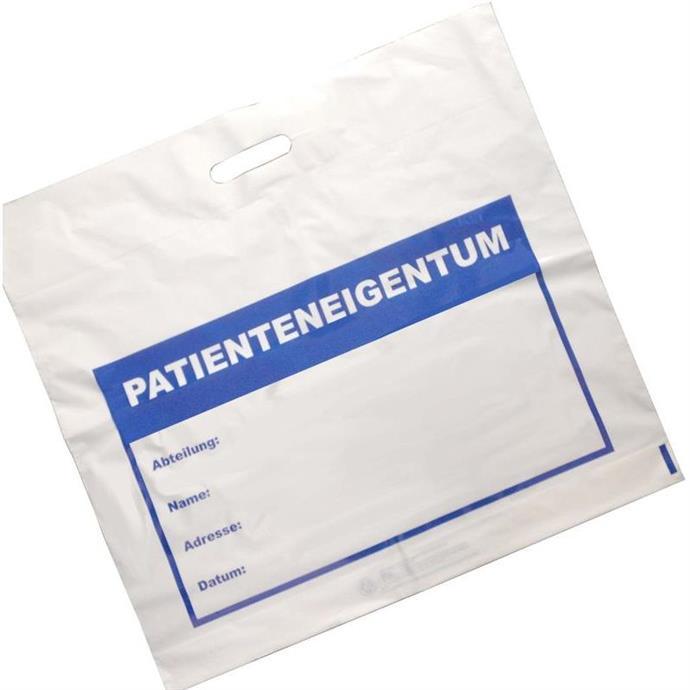 """Tragetasche """"Patienteneigentum"""""""