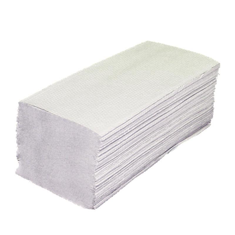 3200x Falthandtücher 2lagig Recycling Papier Handtücher Papierhandtücher 25x23cm
